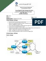 EFM Configuration Routeur Aitmoulay 14 15
