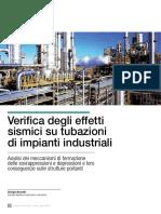 Verifica Degli Effetti Sismici Su Tubazioni Di Impianti Industriali