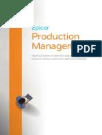Epicor Production Management Suite BR ENS