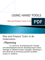 Using Hand Tools