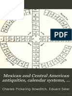 Mexican American Calendar Sytem