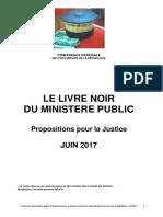 Le Livre Noir de La Justice