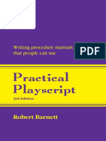 Practical Playscript Writing