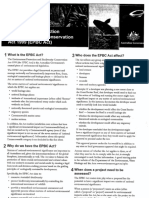epbc fact sheet