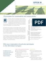 DFGE UN Global Compact Services
