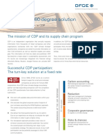 DFGE 360 Degree Solution CDP 2017