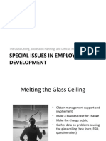 Issues in Employee Development