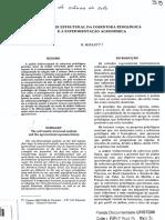 BOULET, R. Análise Estrutural Da Cobertura Pedológica e a Experimentação Agronômica