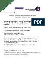 BREDA - Estudio de Caso Didactica PROFMAT