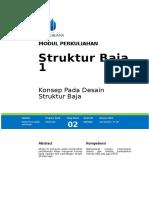 Modul 2  - Konsep Pada Desain Struktur Baja.doc