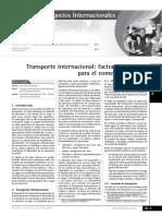 Transporte Internacional Actualidad Empresarial