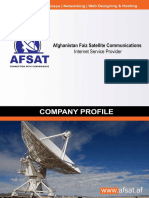 Afghanistan Faiz Satellite Communications (AFSAT) Company Profile