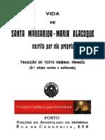 Vida de Sta Margarida Ma Alacoque_por Ela Mesma