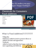Chemicals for Consumers:Food Preservatives