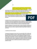 ensayo primero Español