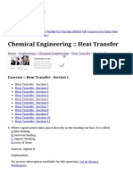 Heat Transfer - Chemical Engineering Questions and Answers Page 2