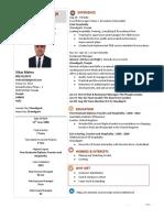 Vikas Mehra Resume