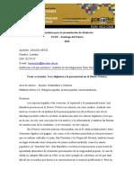 Araraoz_ortiz_-_ponencia_ucse_eje_9religiones y Lo Paranormal en El Diario Crónica.
