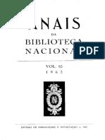 Anais Da BN 083_1963 Barbosa Machado
