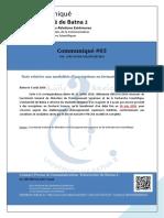 3. CPUB2 AUG 2016- Formation 3eme Cycle
