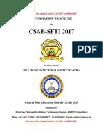 CSAB-SFTI 2017 Information Brochure_Last Updated on July 21_2017