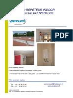 Kit d'Installation Répéteur Indoor 8 Antennes