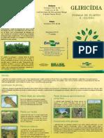 Folder Plantio Gliricidia