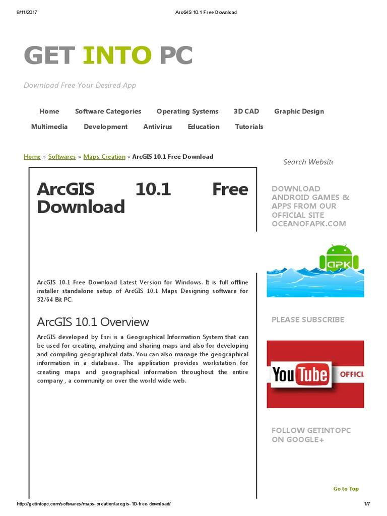 Arcgis download full | ArcGIS 10 5 Crack + Keygen Download