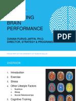 Optimizing Brain Performance