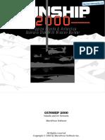 Gunship 2000 - Islands and Ice - Manual - PC