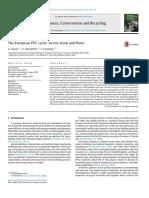 recycling (PVC) teknologi polimer