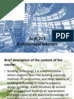 Arch Int Module 1