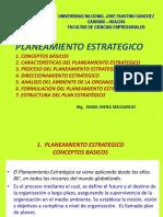 PLANEAMIENTO ESTRATEGICO FUNDAMENTOS