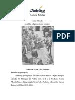 Caderno de Aulas Dialético - Julgamento de Sócrates