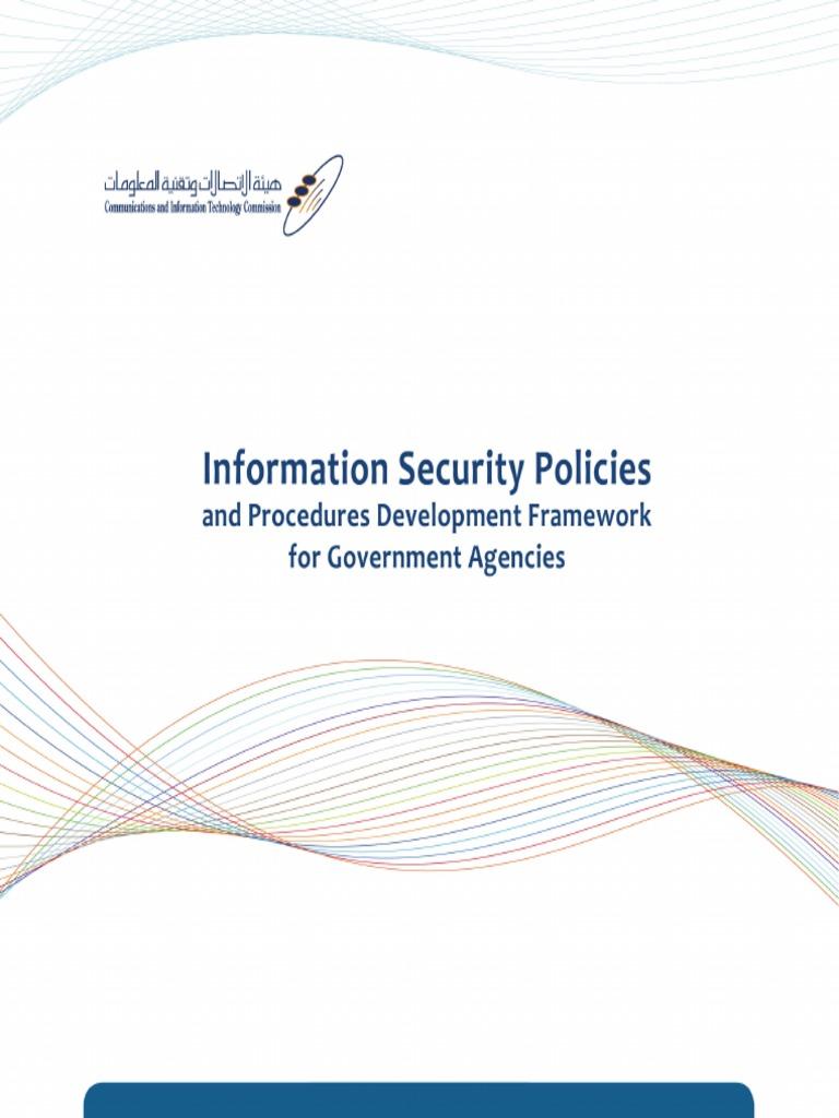 Citc Information Security Policies And Procedures Guide En
