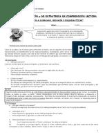 Artículo de Opinión, Crónica y Estrategias de Comprensión Lectora (1)