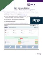In Flight Candidate Information