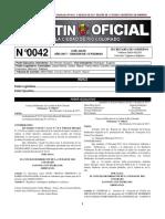 Boletín Oficial de Río Colorado N° 0042