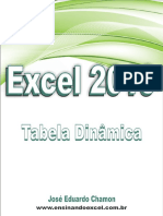 Uso Inteligente Da Tabela Dinâmica Do Excel