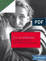 La Estudiante - Christian Schunemann