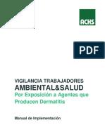 01- Manual de Implementación de La Vigilancia de Trabajadores Expuestos Al Riesgo de Dermatitis