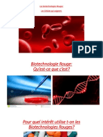Les Biotechnologies Rouges