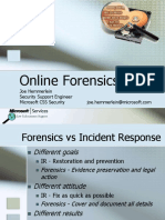 Le2 Online Forensics - Joehem