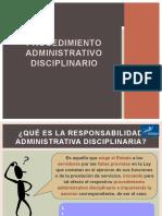 PROCEDIMIENTO ADMINISTRATIVO DISCIPLINARIO - PAD.pptx