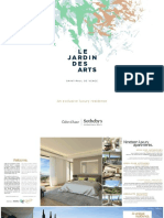 Le Jardin des Arts Brochure