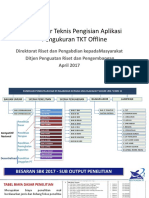 Prosedur Teknis Pengisian Aplikasi   Pengukuran TKT Offline sar15417.pptx