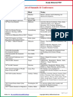 2015 Summits and Conferences by AffairsCloud.pdf