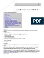 Creating RTF Templates by Using BI Publisher 11g Template Builder for Word
