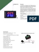 Controle de Temperatura Termostato Digital w1209c