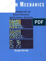Quantum.mechanics.an.Introduction.for.Device.physicists.and.Electrical.engineers.second.edition
